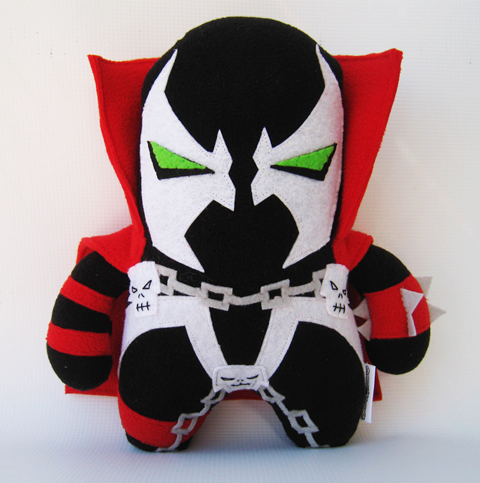 Channel Changers' Spawn plush