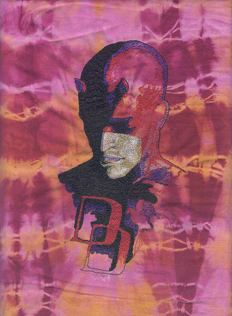 Gear Threads – Geektastic Daredevil Thread Paintings