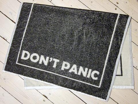 Craftster Pick of the Week – Cross Stitch Ninja's Towel