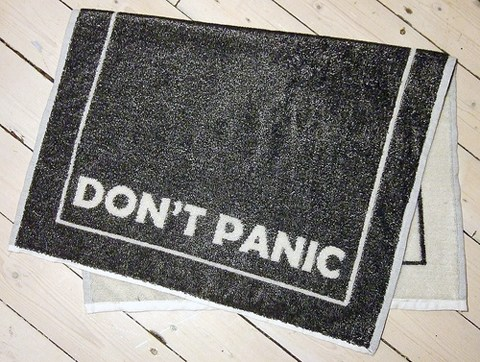 Cross Stitch Ninja - Woven Towel