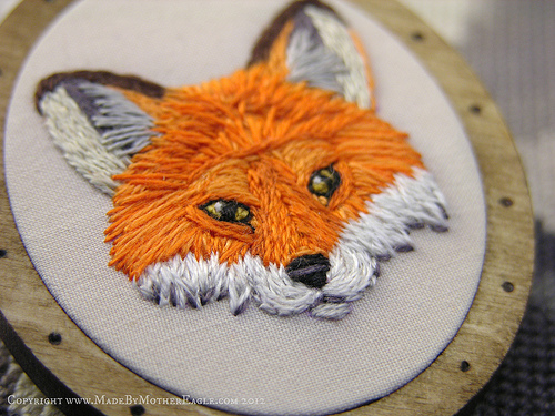 Too Cute Tuesday – The Midwinter Fox Pendant by Mother Eagle