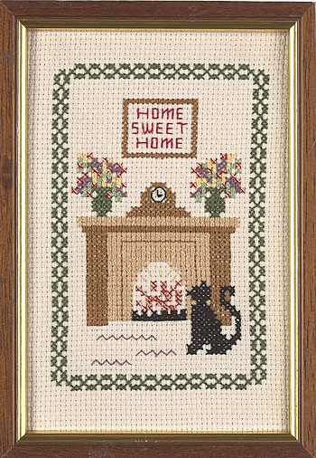 Home Sweet Home Cross Stitch from Jane Greenoff