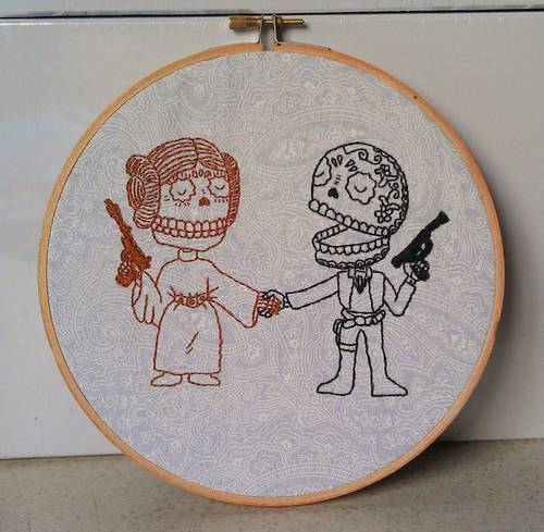 Craftster Pick of the Week – MThrasher's Star Wars Day of the Dead Hoopla!
