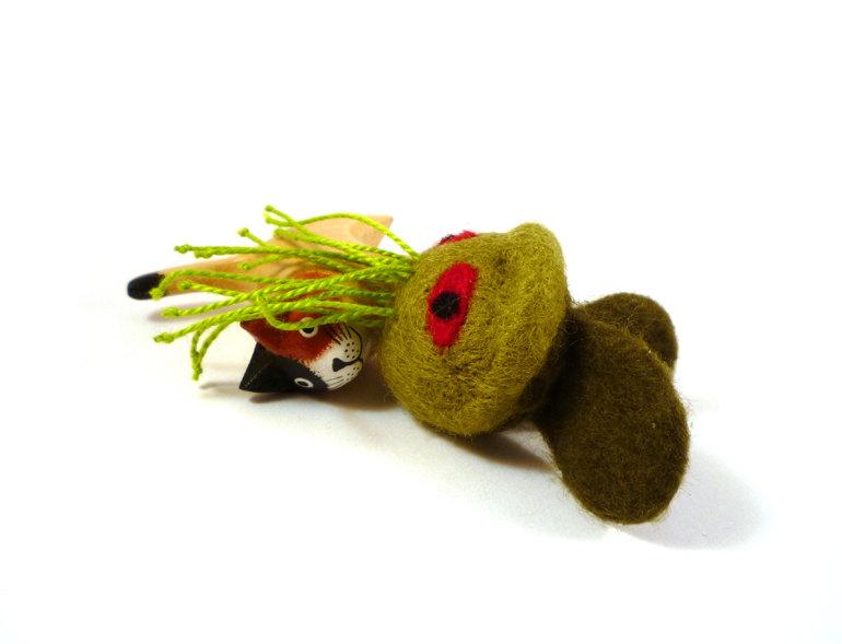 Stitchgasm! Mycrobe's Cthulhu Cat Nip Toy!
