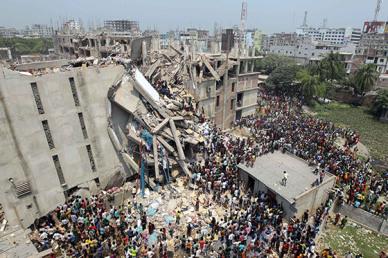 Bangladesh Clothing Factory Collapse