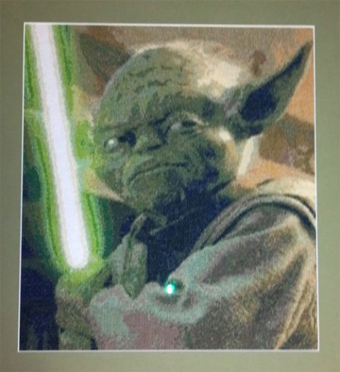 Yoda cross stitch by couchjones