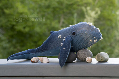 Too Cute Tuesday – Indigo Whale by Fog and Swell