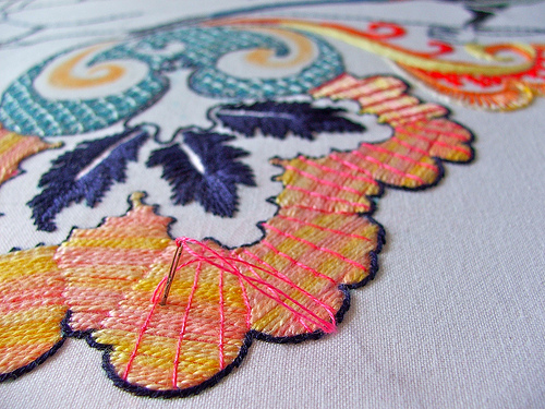 Bayeux Stitch... by Smallest Forest