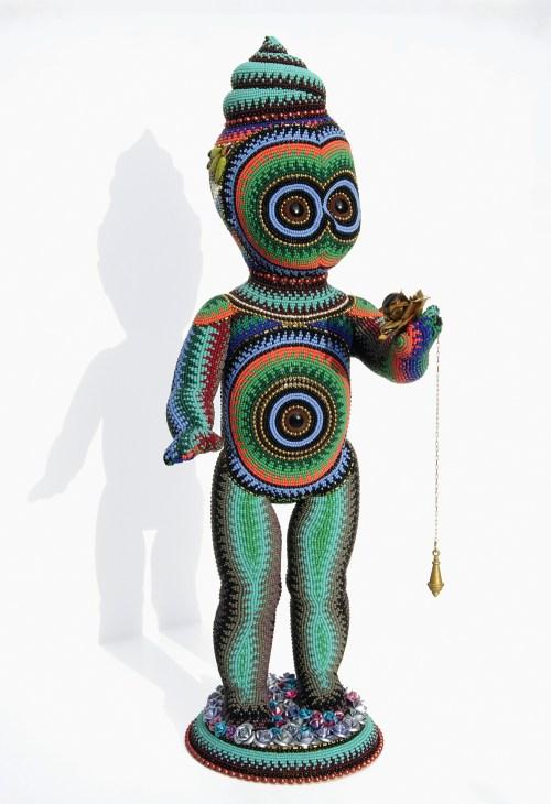 Jan Huling - PoopyHead - beadwork