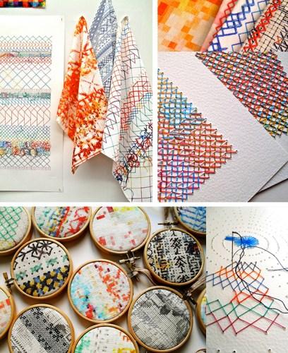 Rachel Parker Print fabric collection