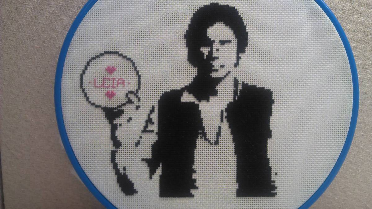Craftster Pick of the Week – Han Stitched First