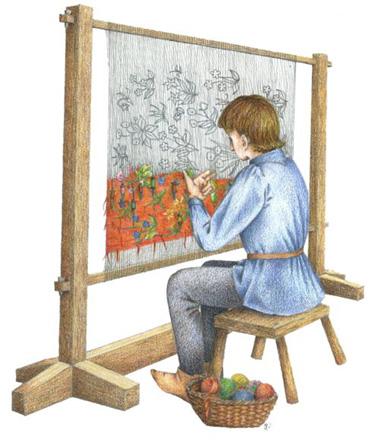 Illustration by Gina Barrett for V&A