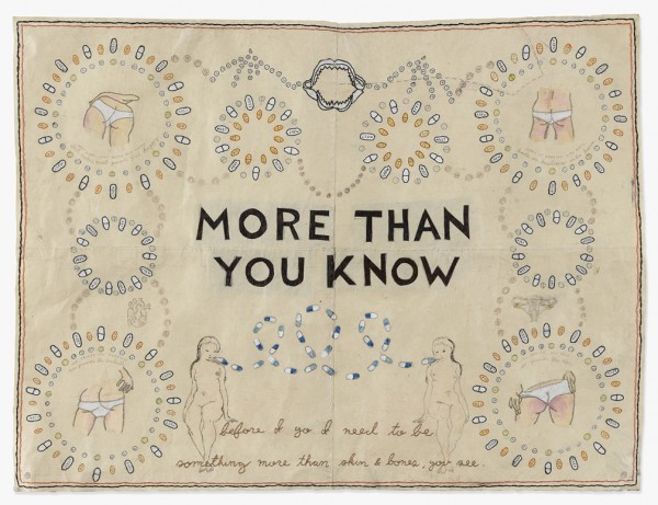 David Curcio - More Than You Know - Hand Embroidery