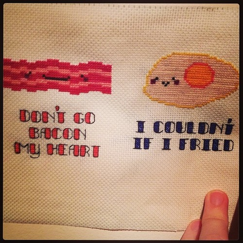 Stitchgasm! – Don't go Bacon our Hearts…