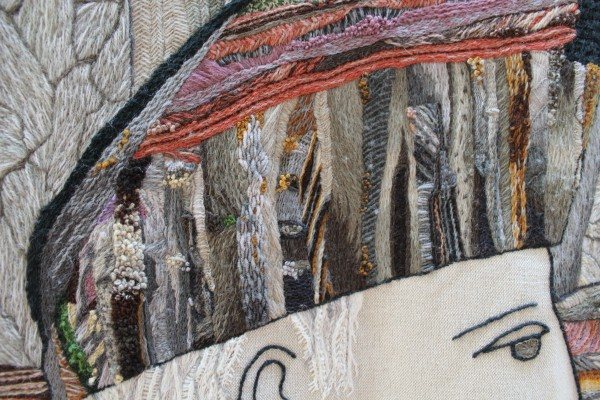James Hutton panel at the Great Tapestry of Scotland (detail)