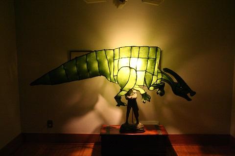 Seth Brenneman - Hadrosaur Lamp