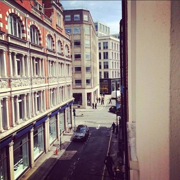 Mill street out window