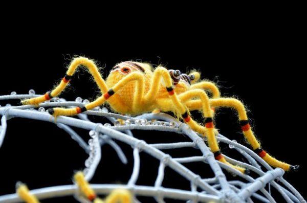 Zora Yin - Spider Soft Sculpture