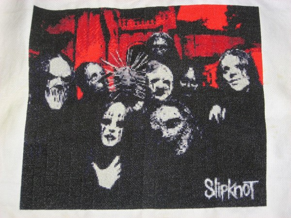 Brittany's Slipknot Cross Stitch