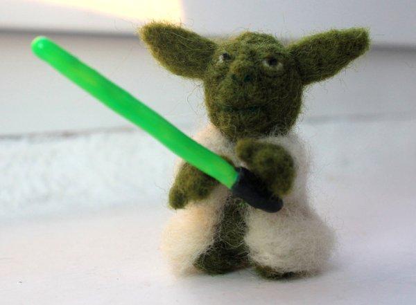 Vampirellover's Needle Felted Yoda