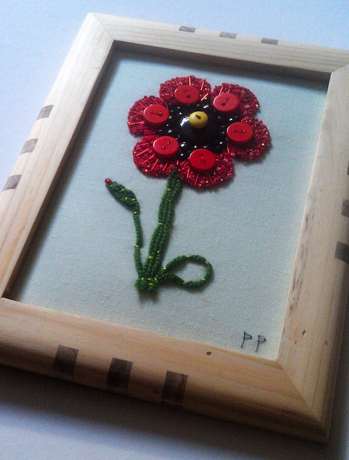 Poppy by Patricks Pieces (Hand Embroidery)