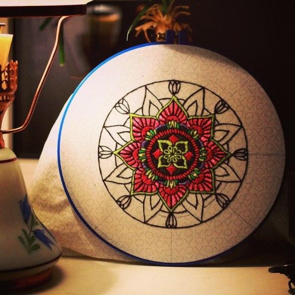 Mandala by Tanya Kirsanova