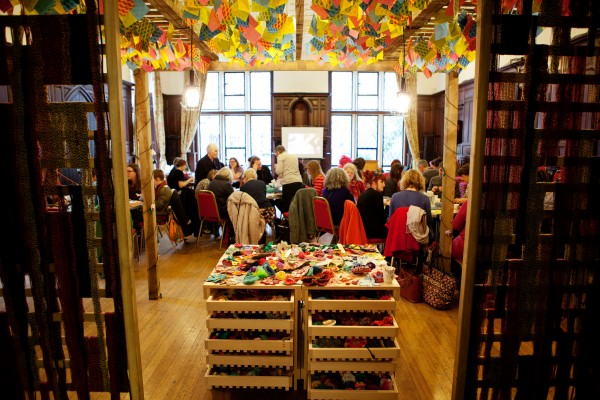 Craftivist wellMAKING Garden Exhibition