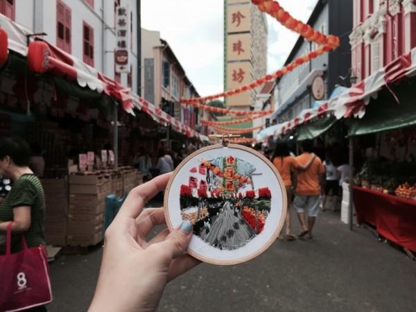 Teresa Lim - Sew Wanderlust Singapore - Hand Embroidery