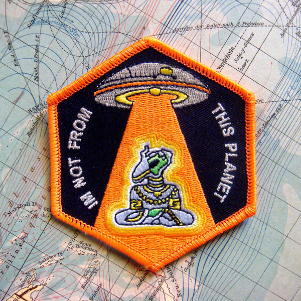 I'm Not From This Planet Patch