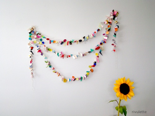 Snips and Snails Garland by Rivulette (Crochet)