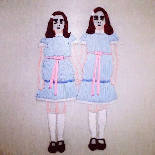 Shining Sisters by Stitch You Up (Hand Embroidery)