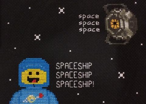 space spaceship by stitchingmama