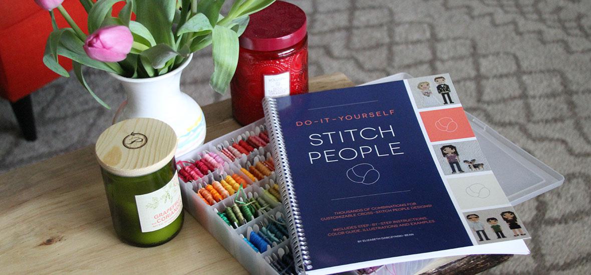 Book Review – Do It Yourself Stitch People by Lizzy Dabczynski-Bean