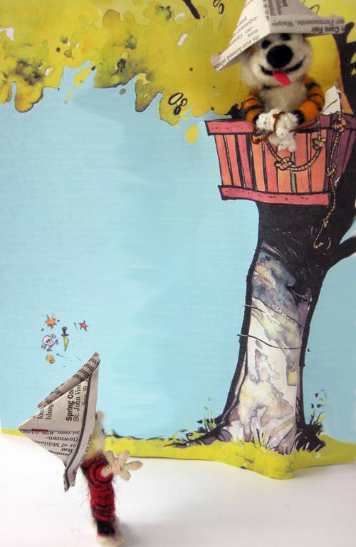 Craftster Pick of the Month – Yoopidou's Calvin & Hobbes
