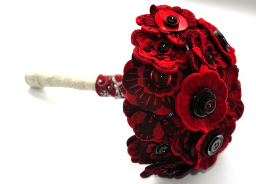 Bridal Bouquet by Charlotte Laurie Designs (Hand Embroidery)