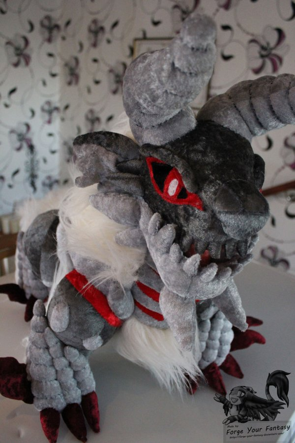 Stygian Zinogre Plush by Forge Your Fantasy