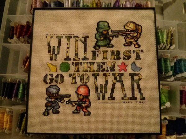 advance wars sampler by stitchmond