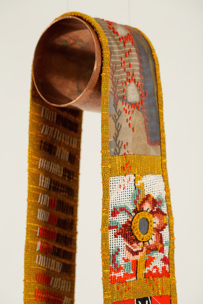 Reliquary #8 detail, Amy Meissner, Textile Artist