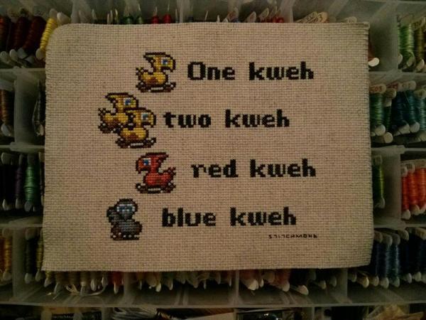 chocobo_dr seuss mashup by stitchmond