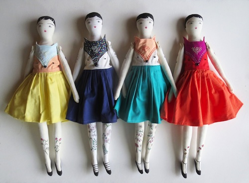 Exploring Etsy – Alia Grace Dolls and Jenny Blair Art