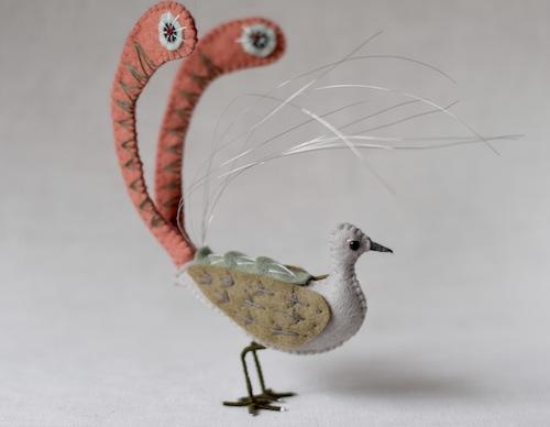 Lyrebird by Fantails and Feet (Soft Sculpture)