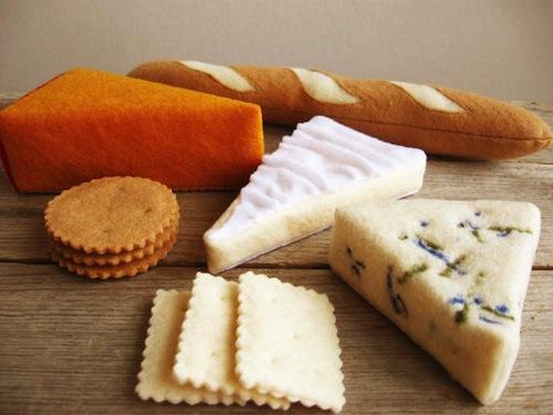 Milkfly - Felt Cheese Platter