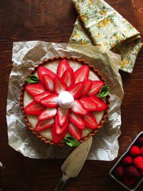 Milkfly - Felt French Strawberry Tart
