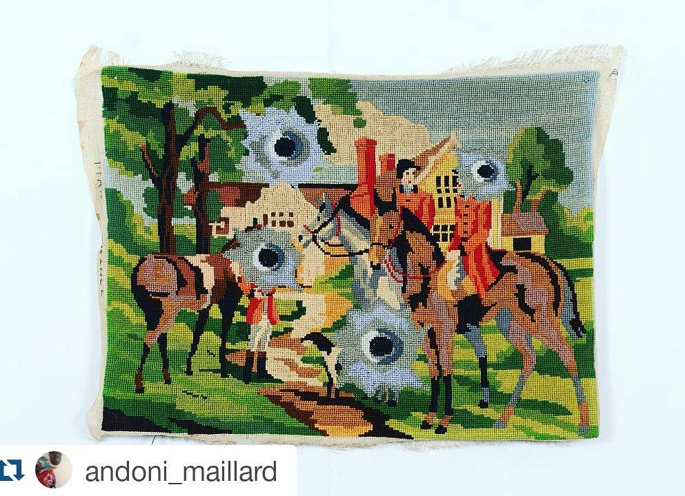 Stitchgasm – Andoni Maillard's Hacked Needlepoint