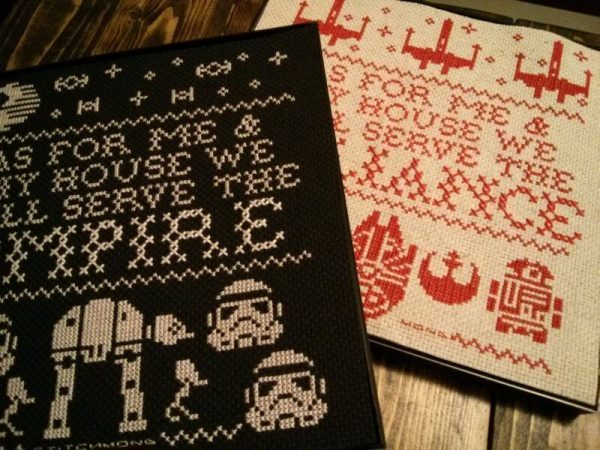 star wars samplers by stitchmond