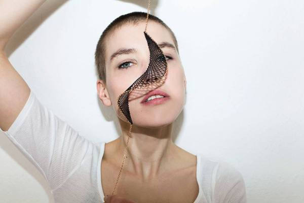 Stefanie Mittman, InLace Jewelry - Alma Collier Photo Credit: Delia Baum