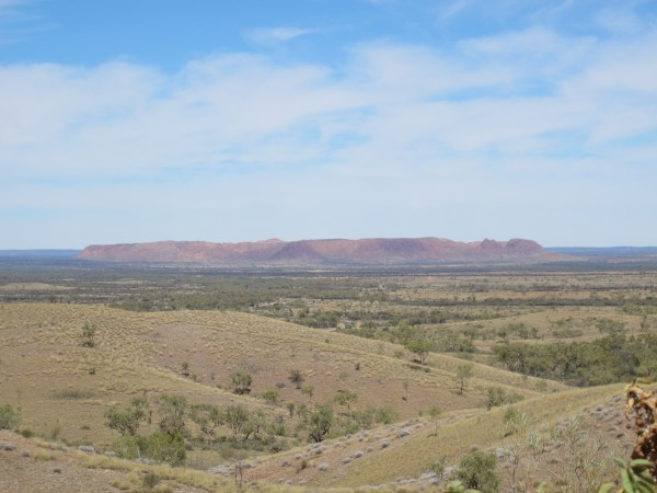 Out bush - the wide plains of Central Australia