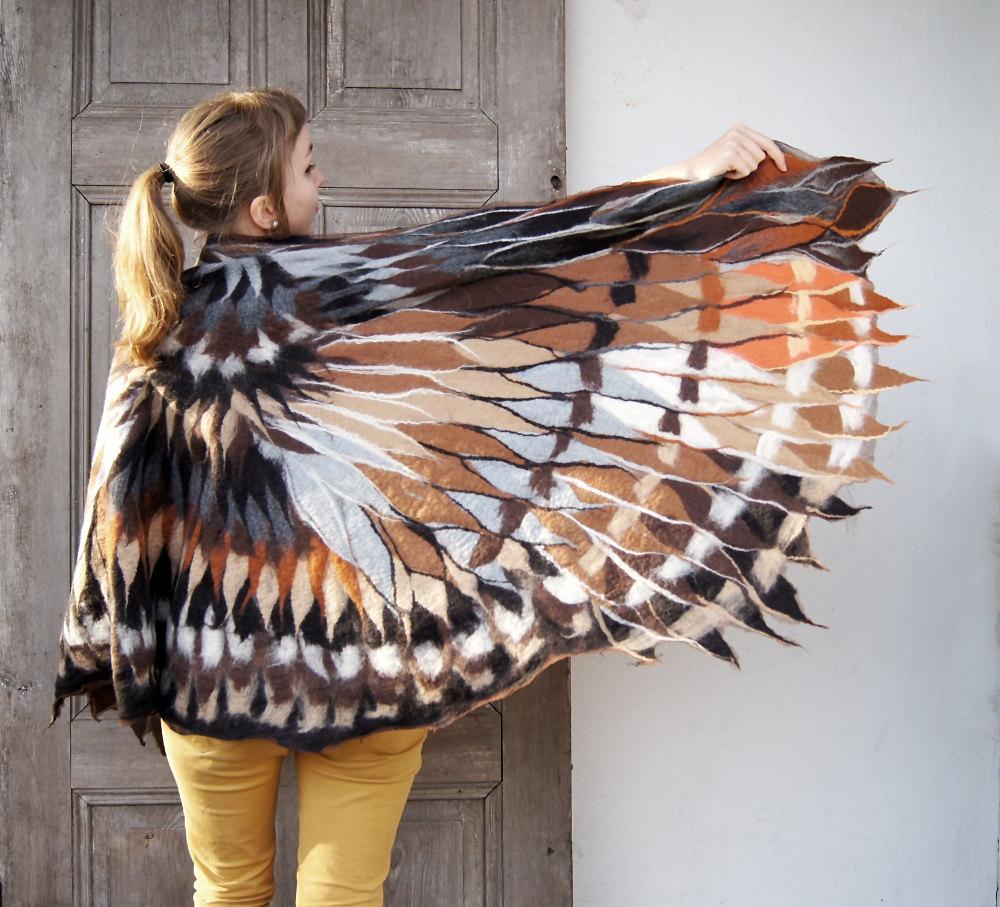 Felter Skelter: Wrap Yourself in Woolen Wings