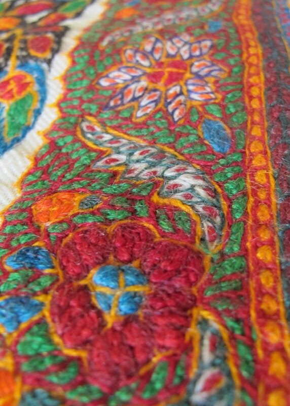 Patteh Traditional Embroidery From Iran Mr X Stitch