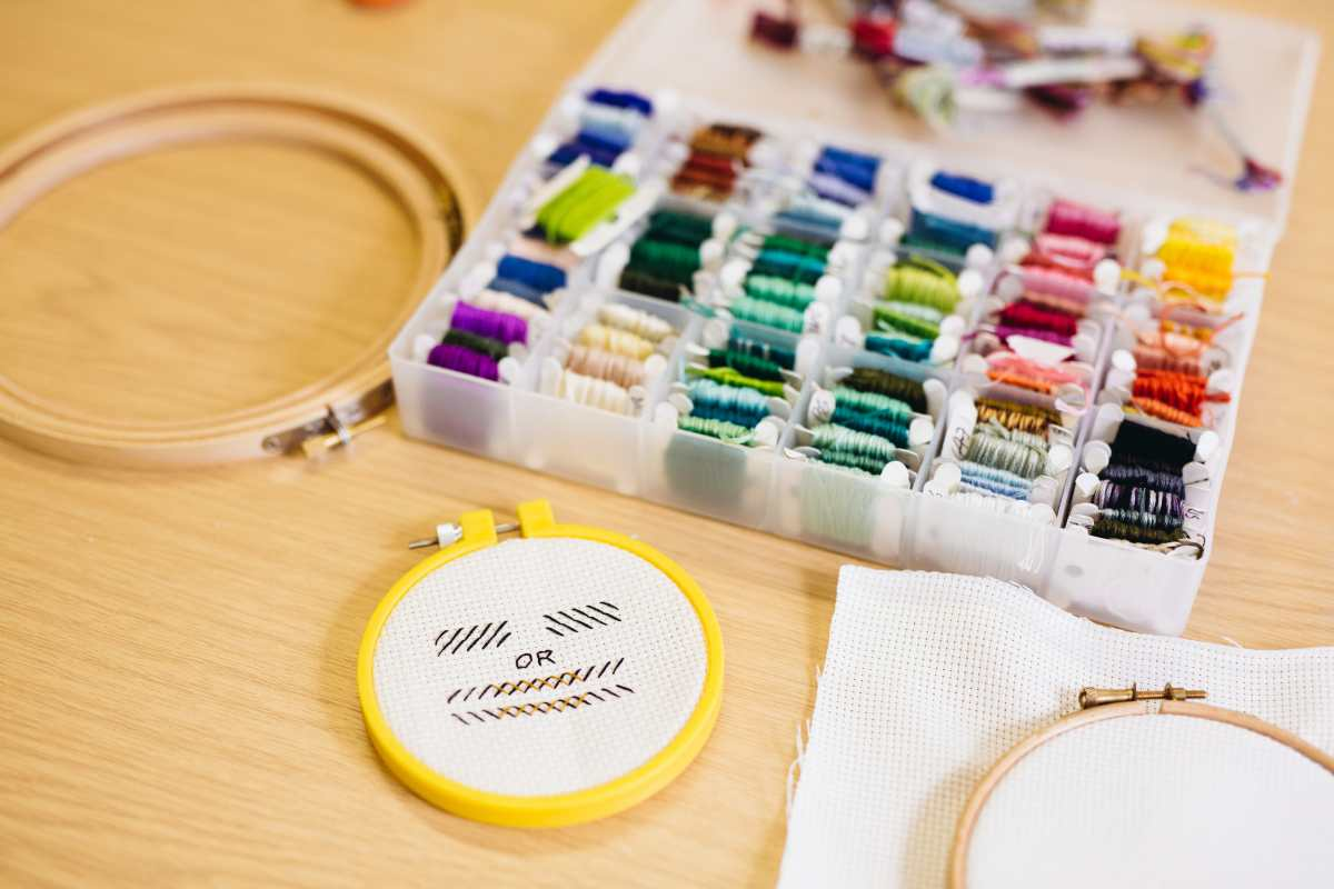 Join Mr X Stitch for the The View from the Cutting (& Stitching) Edge!